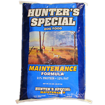 hunters special maintenance dog food